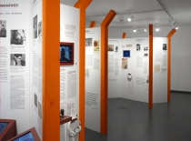 Ausstellung Wechselseitig Rück- und Zuwanderung in die DDR Polygraph Design Ausstellungsdesign Websdesign Branding
