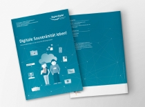 Titel Digital Gipfel 2017 Ludwigshafen Infografik Illustration Hasso-Plattner-Institut Hasso PlattnerInstitut HPI Design Broschüre Polygraph Design